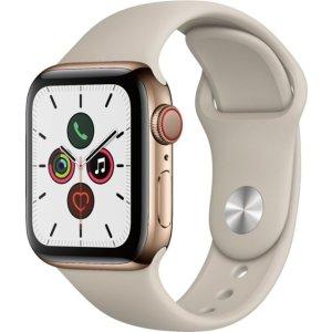Apple Watch Series 5 不锈钢 (GPS + Cellular) 40mm