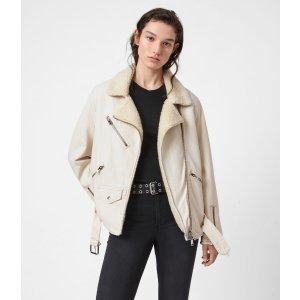 热卖Oversized Sherpa-Lined Denim 夹克外套