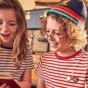8折 哈利波特新款最低价折扣升级:Mini Boden 夏季新款儿童服饰 周末三日闪购
