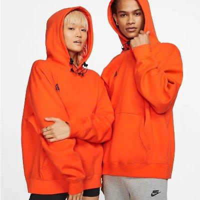 低至6折+额外8折 王一博同款£20入Nike ACG 酷盖必备 卫衣、工装背心、帽子热卖中
