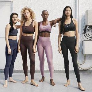 折扣区低至6折+额外7.5折黑五价:Nike官网 瑜伽系列服饰专场折扣回归 宅家运动好装备