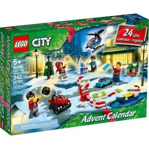 Lego2020圣诞日历 城市系列 60268