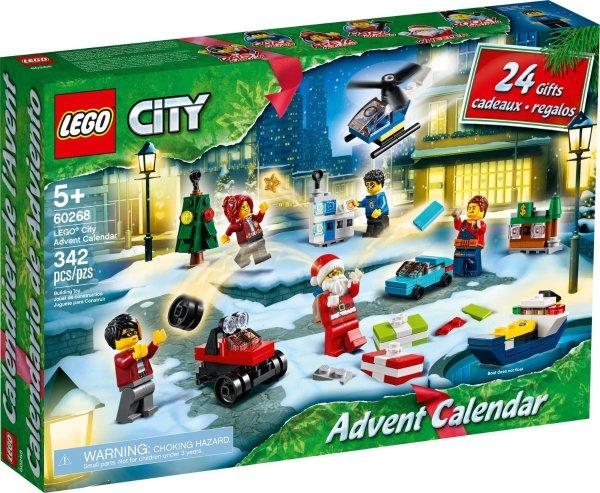 2020圣诞日历 城市系列 60268