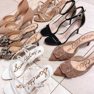 低至5折Sam Edelman 美鞋热卖 一字带高跟鞋$49