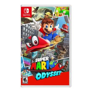 Super Mario Odyssey Nintendo Switch + Cappy Collectible Coin $48 99