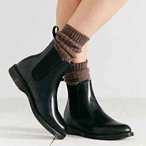 全码好价¥618Dr.Martens FLora 切尔西短靴 杨幂海报同款