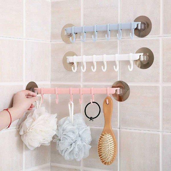 超实用浴室挂钩