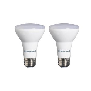 Honeywell 45W Equivalent Warm White R20 Dimmable LED Light Bulb (2-Pack)