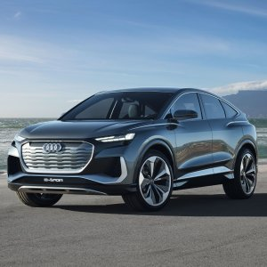 量产版明年亮相Audi Q4 E-Tron Sportback 跨界概念版电动SUV