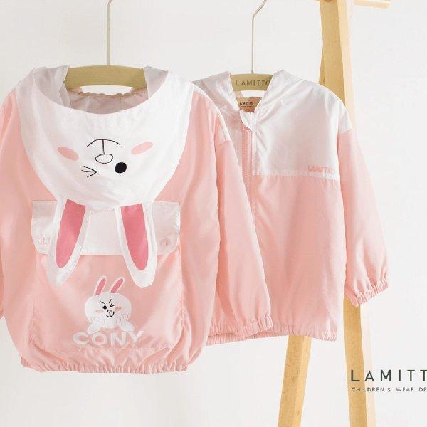 粉嫩兔子款外套