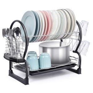 闪购:TOOLF 双层厨房碗碟滤水架