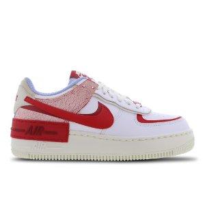 Nike封面款!Air Force 1 Shadow红色