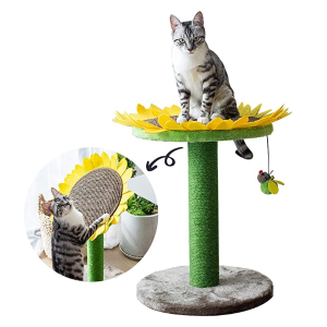 Catry Cat Tree Bed with Scratching Post