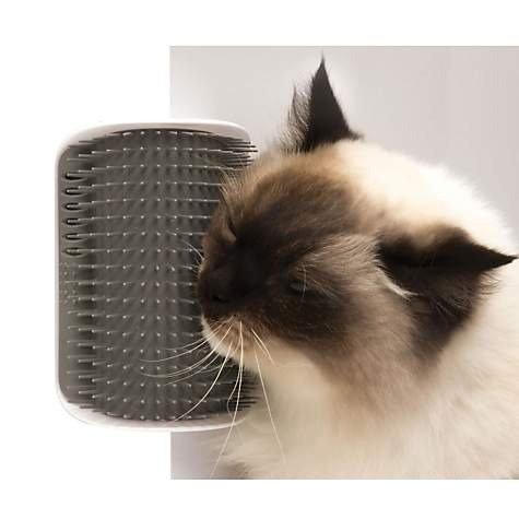 猫咪墙角按摩梳毛器