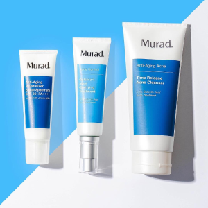 满额享7.5折+免邮Murad 精选美容护肤品享优惠  收人气祛痘产品