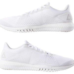 低至4.5折+包邮 多色可选Reebok Flexagon系列男女训练小白鞋 一律$34.99收