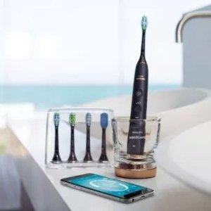 $170.93 (原价$249.99)新版Philips Sonicare 钻石智能蓝牙电动牙刷 3个刷头