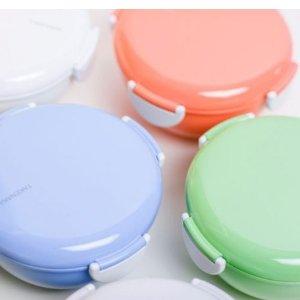 5折  $19 (原价$38)Takenaka 日系圆形便当盒  清新糖果色吃饭好心情