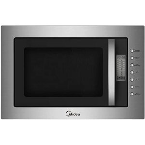 Midea Stainless Steel Built-in Frameless Microwave Oven, 25 Litre Capacity, Silver