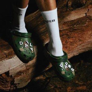 7折+额外9折Crocs 舒适度满分的洞洞鞋 懒人必备 还有秋冬加绒版