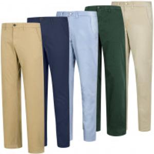 仅€29.99收Timberland 男式休闲直筒长裤 3折特卖 直降近70欧 多色可选