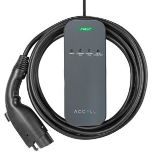 $249.99ACCELL Dual-Voltage AxFAST Portable Electric Vehicle Charger (EVSE) Level 2