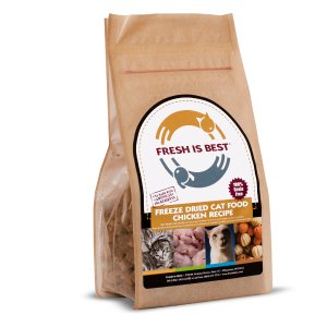 Freeze Dried Chicken Cat Food 8oz - Fresh Is Best