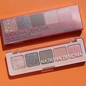 $25 + 免邮上新:Sephora  Natasha Denona 迷你Retro眼影盘上市