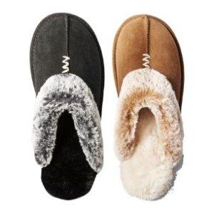 Coming Soon: $7.00 Secret Treasures™ Genuine Suede Slippers