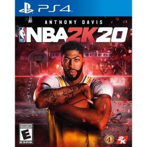 NBA 2K20 PS4 实体版
