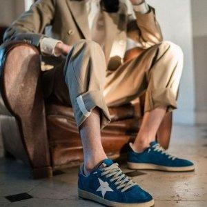 75折起+额外变相8折最后一天:Golden Goose 星星小脏鞋春季特卖 款式多多