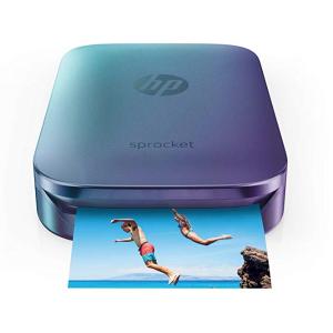 $89.99HP Z9L26A Blue Sprocket Portable Photo Printer