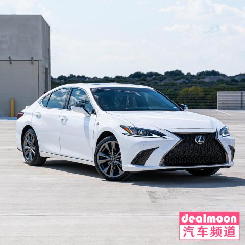 4万出头要啥有啥超实惠DM试驾 Lexus ES 350 F Sport 豪华中型轿车