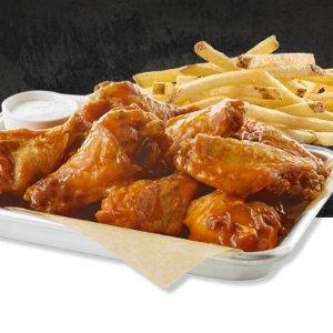 $9.99Buffalo Wild Wings 鸡翅+薯条套餐 限时优惠