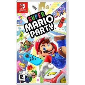Nintendo马里奥派对 Switch 实体版