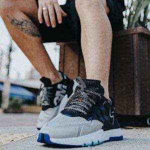 低至5折adidas 爆款 Nite Jogger全能运动鞋热促 王嘉尔也在穿