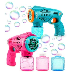HOPOCO 2 Bubble Guns for Kids