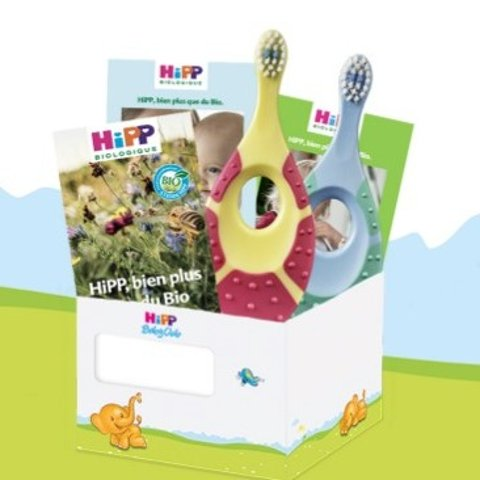 注册就送免费0-2岁婴儿牙刷薅羊毛!Hipp喜宝 知名婴儿品牌 免费牙刷它不香吗