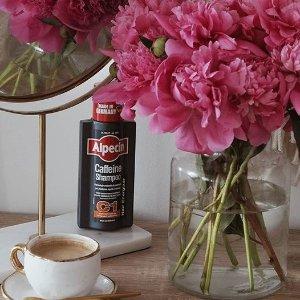 单瓶最低仅£5.99Alpecin 咖啡因防脱发洗发水折扣中 跟脱发说拜拜