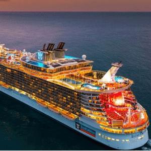 低至$276 赠送最高$1100船上消费皇家加勒比全线大促 所有乘客7折特惠 岸上游览9折起