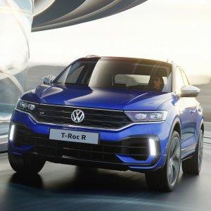 高达296HP 但是不卖到美国日内瓦车展 VW大众发布T-Roc R 性能版SUV