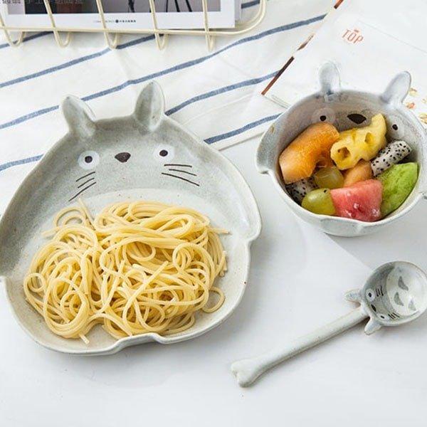 龙猫餐具套装