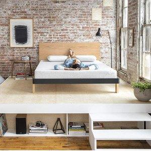 $280起限今天:Nod by Tuft & Needle 乳胶床垫+枕头套装 Twin-King尺寸都有