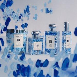送香氛2件套 香体粉开售Jo Malone 限定款蓝风铃系列香氛 清新花果香,脱俗仙女味