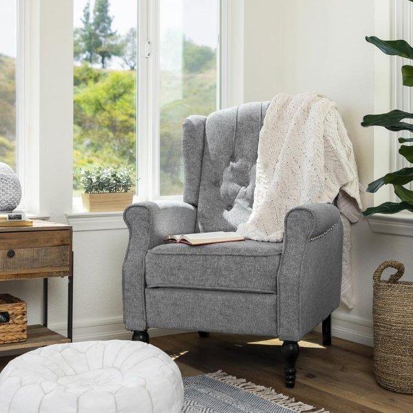 现代布艺沙发椅