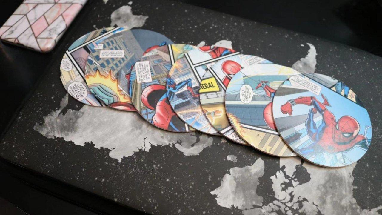 KOL挑战   DIY超级英雄🕷️碗碟垫/杯垫