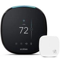 Ecobee 4 智能无线恒温器 + 温度感应器