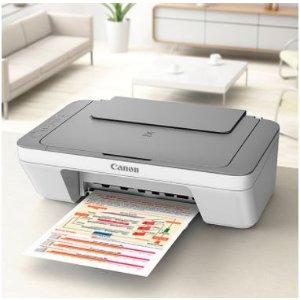 $35 包邮 带扫描功能Canon PIXMA MG2460 彩色喷墨打印机