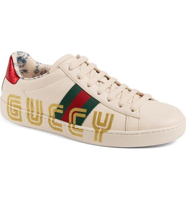 New Ace Guccy Logo 休闲鞋