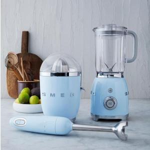 低至7.5折 手持料理机$150手慢无:Smeg 高颜值小家电 马卡龙配色 复古榨汁机$262.5